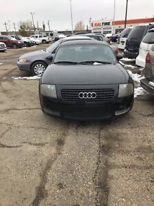 2002 Audi TT comes with 1 year warranty. Will TRADE.