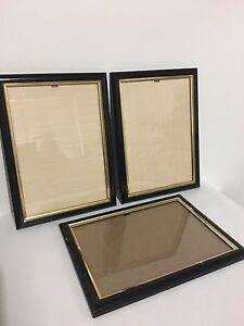 Wooden photo pictures frame with glass 3x + small IKEA frame x 2 Sans Souci Rockdale Area Preview