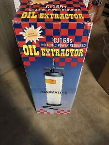 New model 6.5 litre oil extractor Carlton Melbourne City Preview