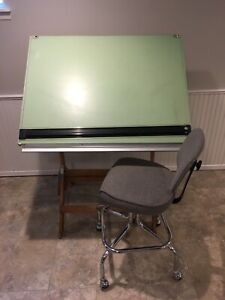 Drafting table and chair!!
