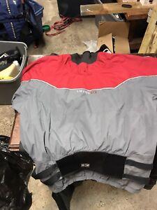 Dry top and bottom kayak
