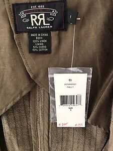 Ralph Lauren linen jacket - brand new with tags Double Bay Eastern Suburbs Preview