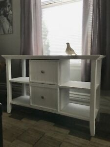 Painted sideboard/hallway table/tv console/shelving unit.