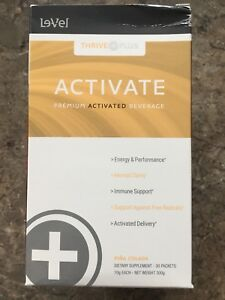 NIB Thrive Activate Pina Colada flavour w/2 free Cafe  $25