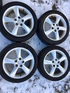 Winter rims   Mazda3 $160obo