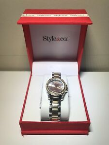 Brand New two-tone ladies watch