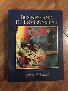 Business Textbook for sale