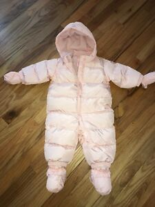 Gap Snow Suit Baby Girls 6 - 12 months