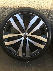 """4x VW polo Genuine 17"""" with Bridgestone tyres Chester Hill Bankstown Area Preview"""