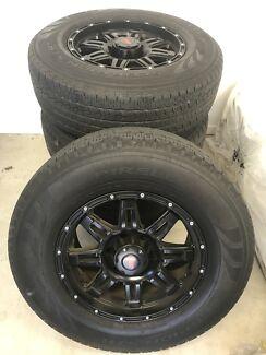 6 stud 17 inch wheels / rims / mags