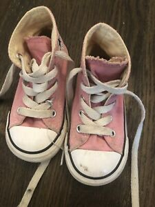 Size 5 Converse Sneakers-$10