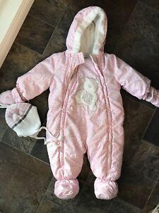 Habit hiver bébé fille 9 mois