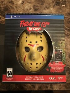 Friday the 13th: The Game PS4 Ultimate Slasher Collector Bundle