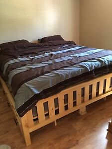 Custom King Size Bed