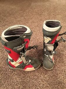 Dirt bike boots Thor size 8