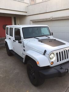 2012 JEEP WRANGLER UNLIMITED ARCTIC EDITION 4x4