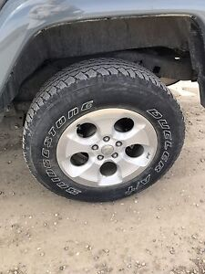 SOLD SOLD SOLD!! Rims from a 2015 jeep Sahara