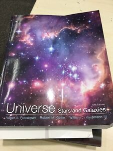 Universe stars and galaxy 5th ed, astronomy 122