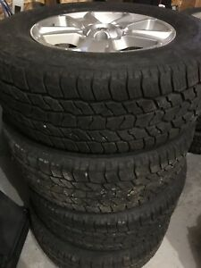 275 65 R18 LT Toyota Tundra Winter Tires and Rims