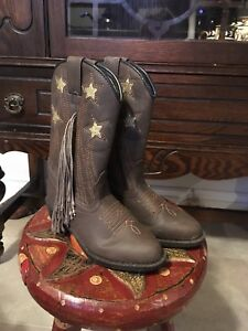 Kids western boots - almost new!