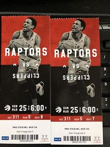 RAPTORS V.S CLIPPERS THIS SUNDAY