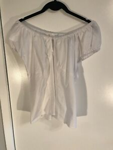 Hell Bunny White Top Size L Narre Warren Casey Area Preview