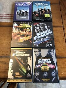 Fast & Furious DVDs