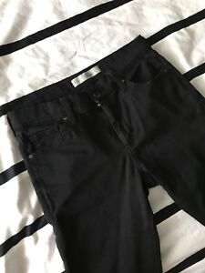 Black Leigh jeans from TOPSHOP