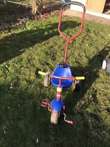 Radio Flyer Tricycle with a push Handle