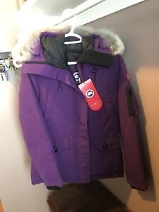 Size small purple Canada Goose jacket