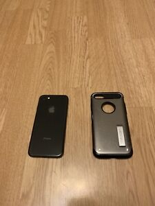 iPhone 8 64gb with screen protector and case
