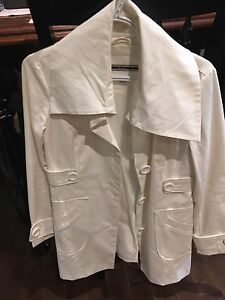 White dress jacket