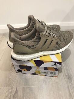 Adidas ultra boost 3.0 khaki US11
