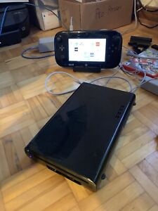Wii U with games and accessories for sale or trade