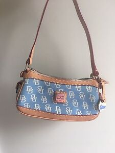 Blue Dooney and Bourke Hand Bag