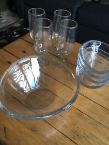 Walther Glass Serving Set