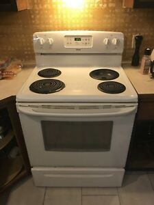 Stove for sale. Must go today or tomorrow.