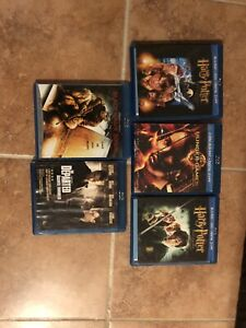 Harry Potter blu rays and more