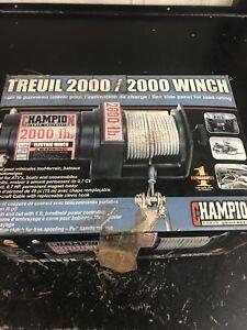 2000lb winch brand new