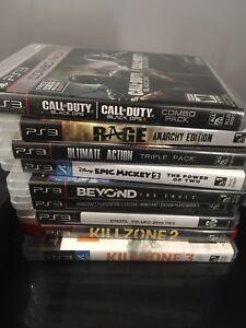 PS3 slim 500GB 12 GAMES 250$ ! ! !