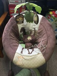 Lion king baby swing