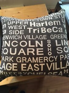 Accent pillows - down filled