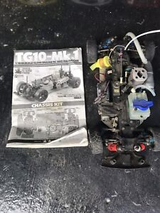 Tamiya TG-10 Gas RC Car with 4 bodies & extra parts