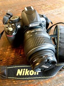 Nikon D3100 Digital camera & 18-55 mm, 50mm & 55-200mm zoom lens