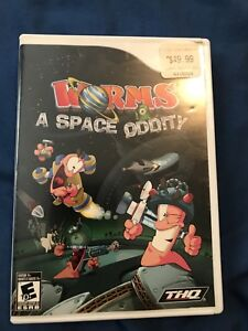 Used Wii Worms a space oddity