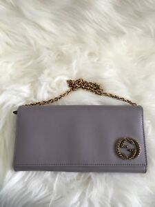 BN authentic GUCCI wallet in chain