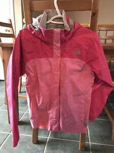 Girl's Pink North Face Jacket Size L