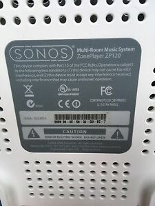 Sonos Multi-room system zp 120