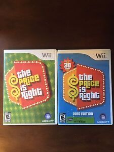 Price is right wii games