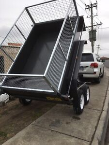 8x5 hydraulic tippers (SMICKWELDING) HOBART